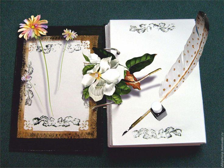 """Купить Блокнот """"Ретро стиль"""" - блокнот, подарок, подарок на день рождения, винтажный стиль, ретро"""