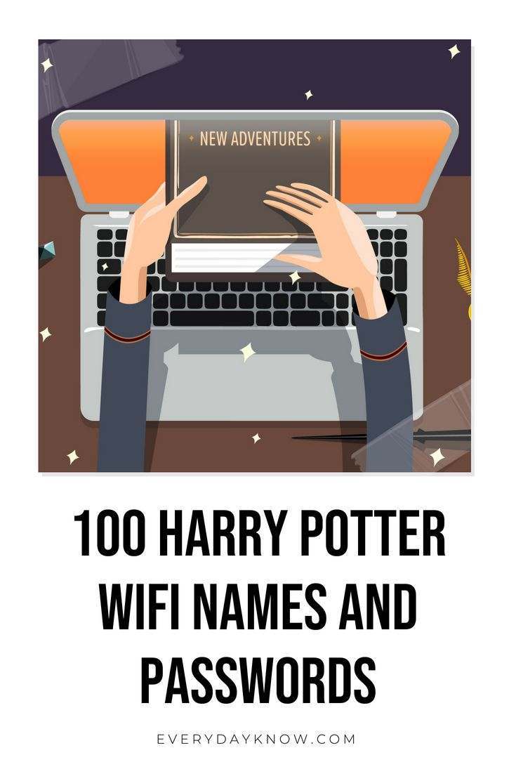 100 Harry Potter Wifi Names And Passwords Wifi Names Funny Wifi Names Wifi Password Funny