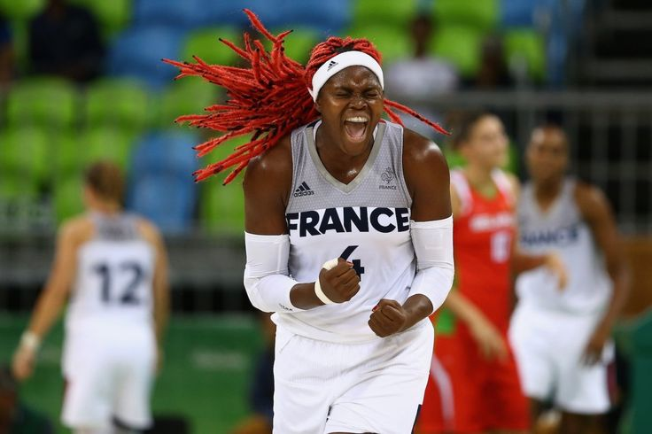Isabelle Yacoubou might have the best hair in the Olympics.