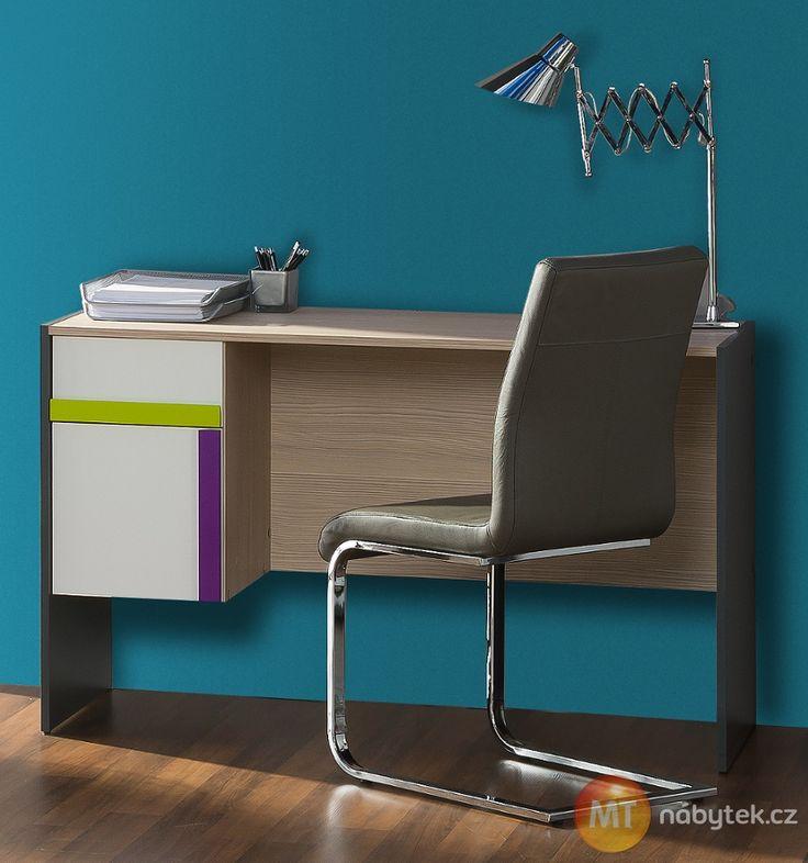 Psací stůl do dětského / studentského pokoje Julien Table/ desk