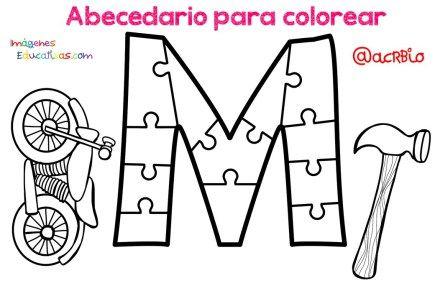 Abecedario para colorear (13)