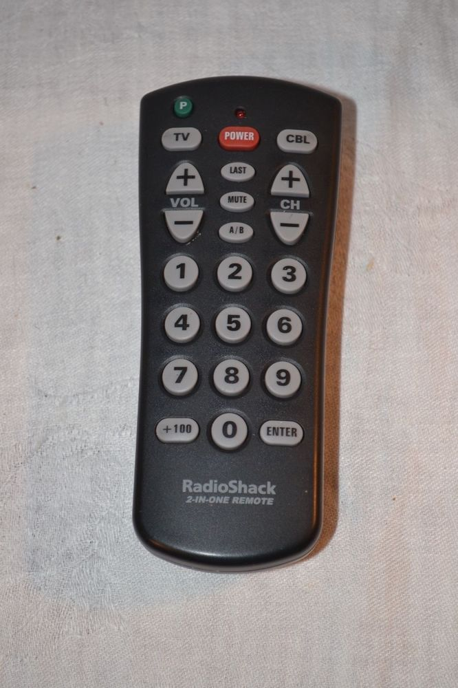 Radio Shack Model 15 1989 2 In One Universal Remote Control Radioshack Universal Remote Control Remote Control Remote