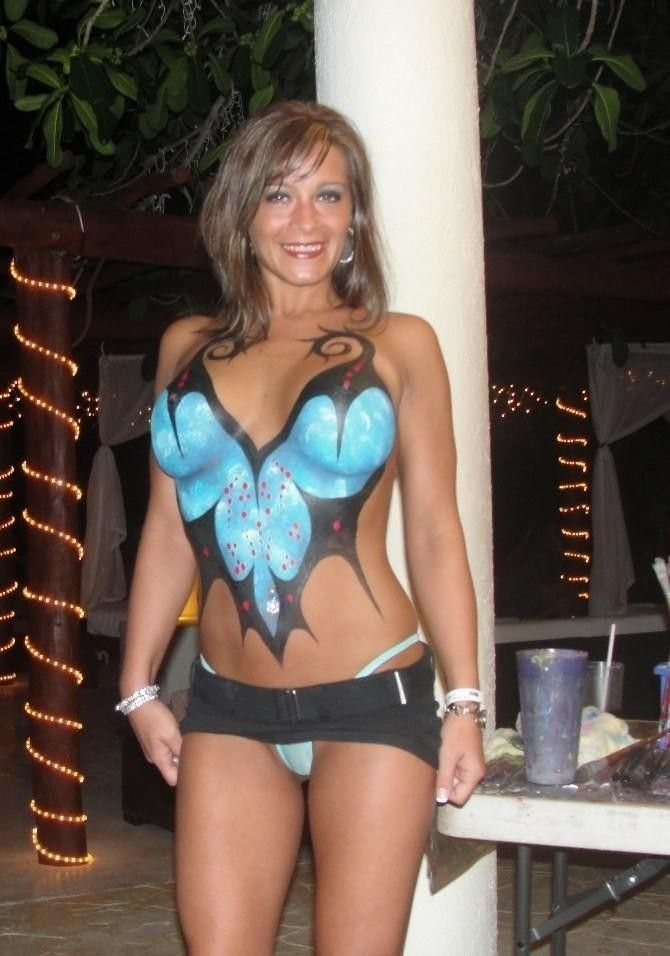 54 best images about sexy matures on pinterest sexy for Best body paint pics