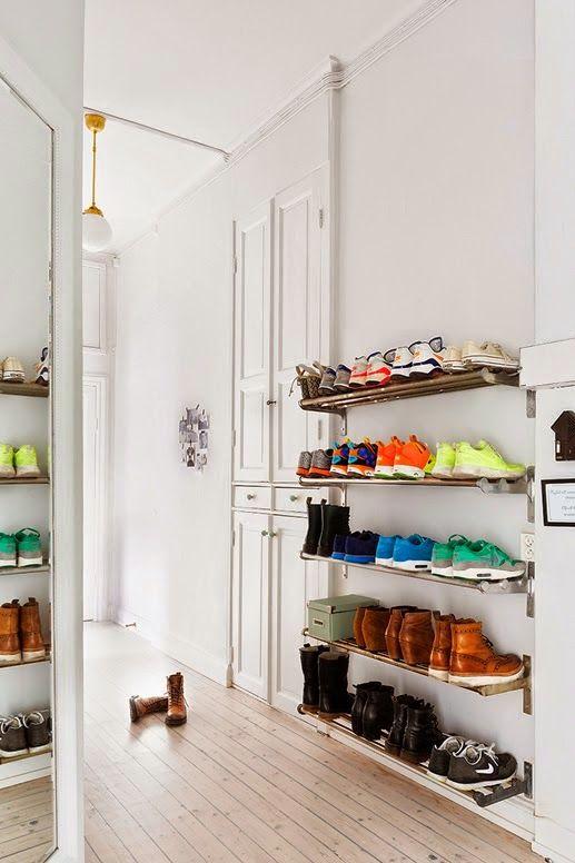 ikea home hack shoe storage