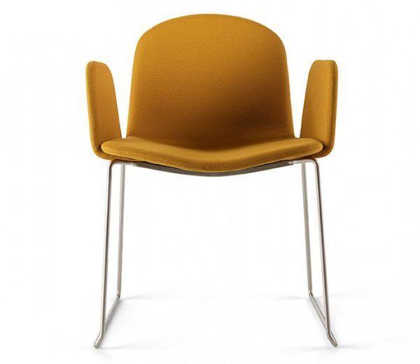 FAUTEUIL CHAISE VINTAGE RETRO BOB XL LUGE – DESIGN NADIA ARRATIBEL – ONDARETTA #vintage #design #retro #moutarde #chaise #fauteuil #design