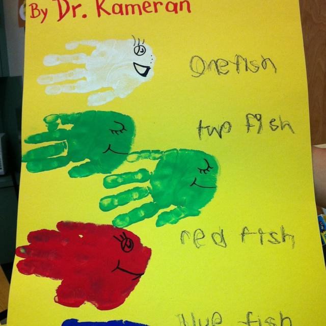 Dr Suess on Goldfish Graphing Preschool