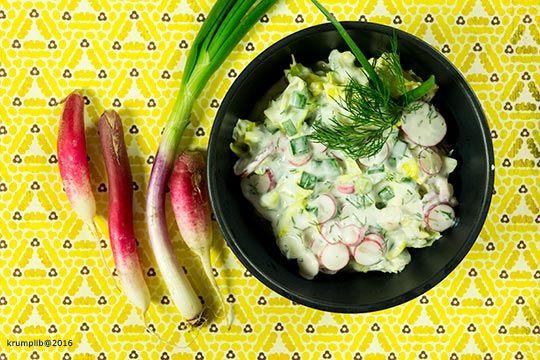fotó: Krumpli Béla  Ez van, egymás után gyártom a világ legjobb salátáit:)