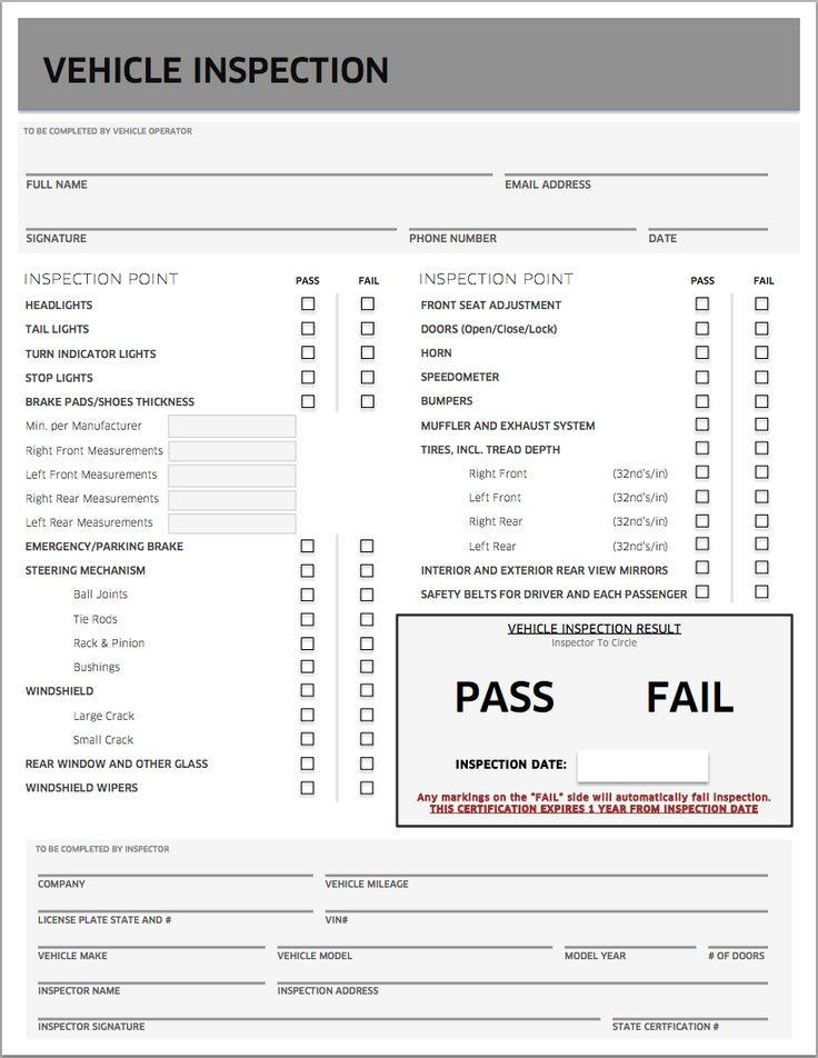 Uber Inspection Form For Uber Inspection Form Feature Prosties Vehicle  Inspection Checklist Template