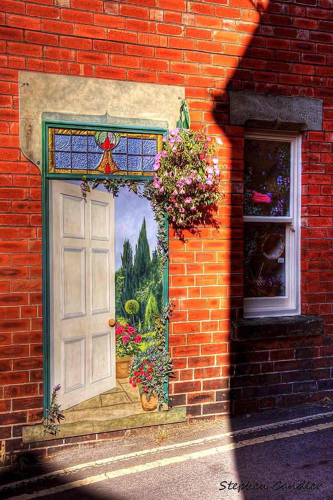 Street art in de town of Knaresborough, Starbeck, Harrogate, North Yorkshire_ England