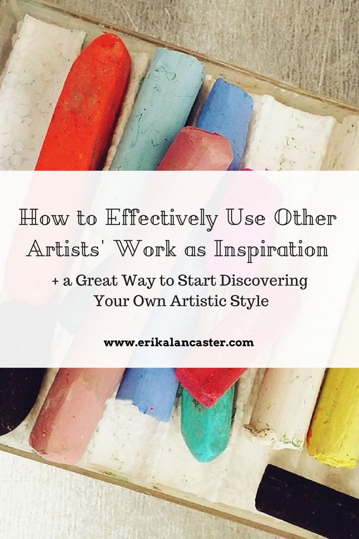 How to Effectively Use Other Artists' Work as Inspiration and a Great Way to Start Discovering Your Own Artistic Style. - This post is especially written for those beginner artists struggling to find their own art style and voice. I explain a very useful and effective method to use that ensures the outcome of original artwork when getting inspired by other artists' work.