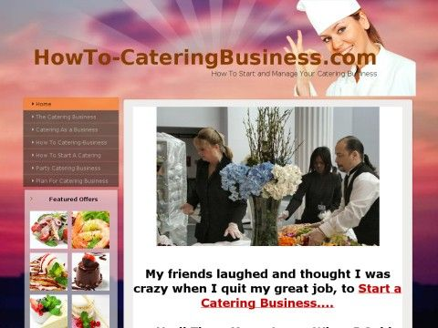 how to open your own catering business