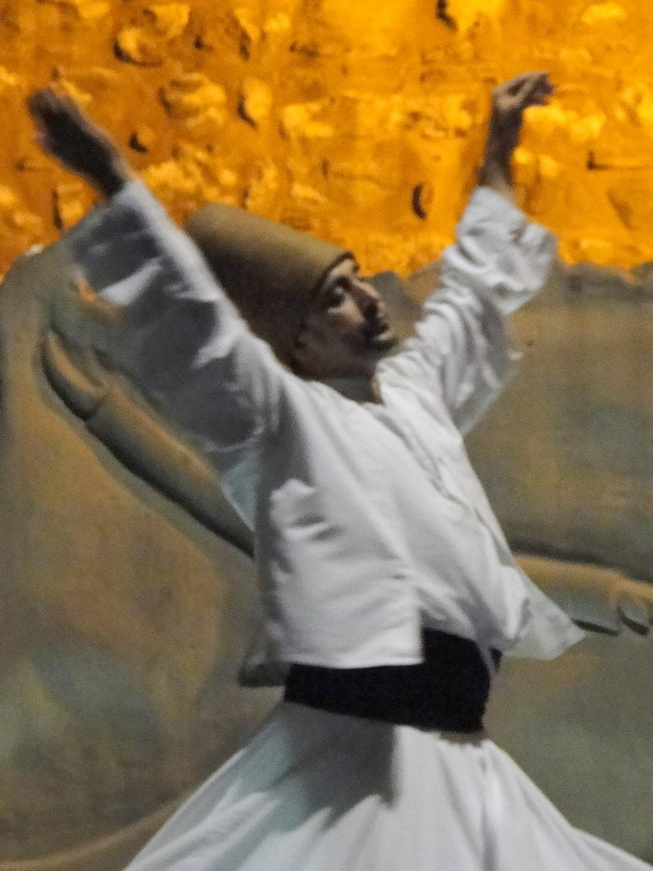 Whirling Dervish, watching made me dizzy!