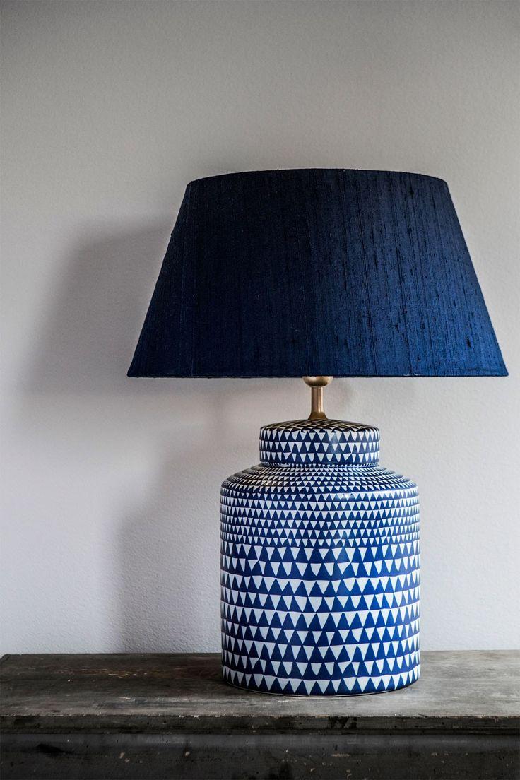 Underbar bordslampa i stengods