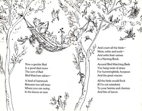 The Bed Book: Sylvia Plath's Poems for Kids, Illustrated by Quentin Blake | Brain Pickings