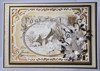 dutchess: Christmas card club challenge Lizzie's choice....V...