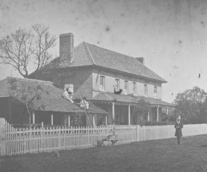 Dr John Selkirk's House, March Street, Richmond c1860