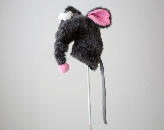 Golf club head cover Rat Big mouse golf by Puppetsinabag on Etsy