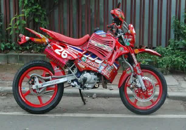 MODIFIKASI MOTOR TRAIL KEREN | Motor Juragan