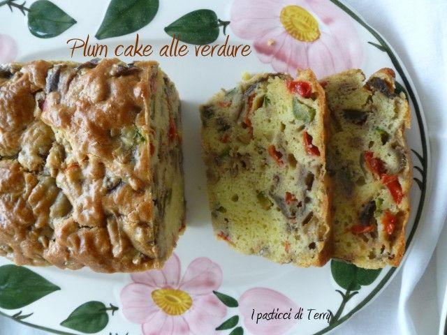 Le #verdure? Io le metto anche in un buon #Plumcakesalato. Ecco come fare:  http://www.ipasticciditerry.com/plum-cake-alle-verdure/