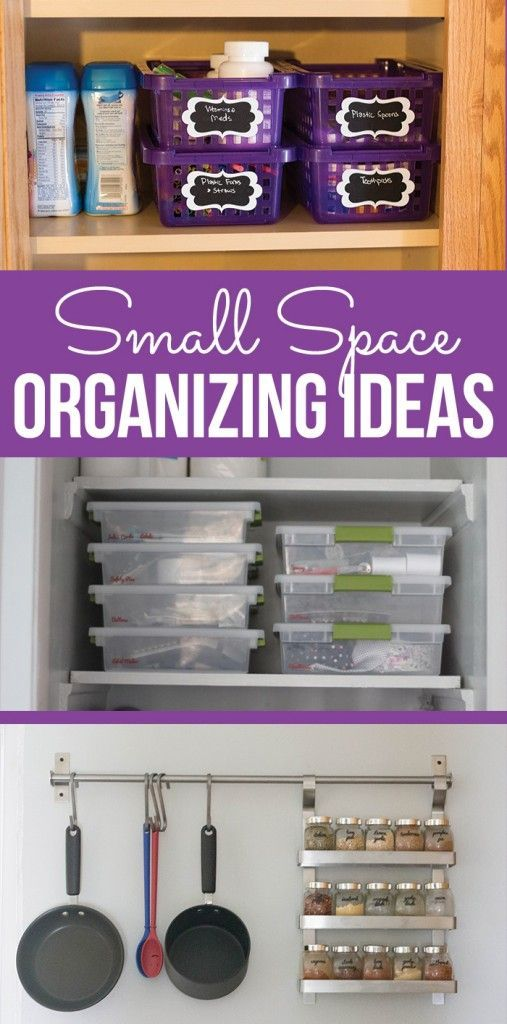 The 25 Best Small Space Organization Ideas On Pinterest