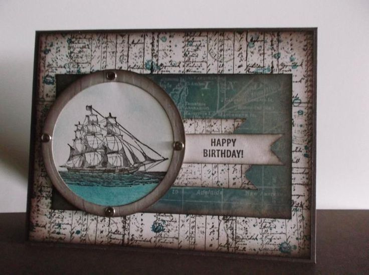 Sailing Unchartered Waters by stampin'nana - Cards and Paper Crafts at Splitcoaststampers