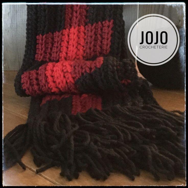 Écharpe, foulard style Bucheron par LaCrocheterieJojo sur Etsy https://www.etsy.com/ca-fr/listing/506591619/echarpe-foulard-style-bucheron