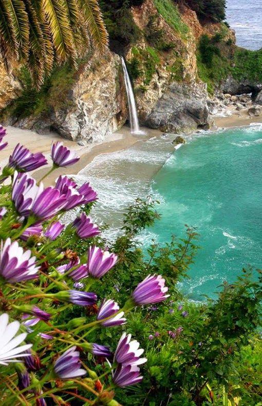 McWay Falls at Big Sur, California.