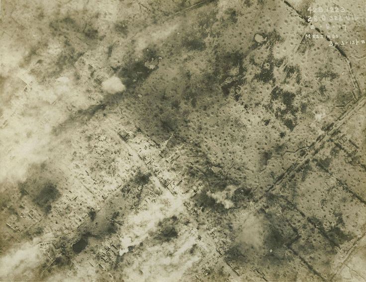 WW1 Aerial photograph - Messines 1917-06-02 - Battle of Messines (1917) - Wikipedia