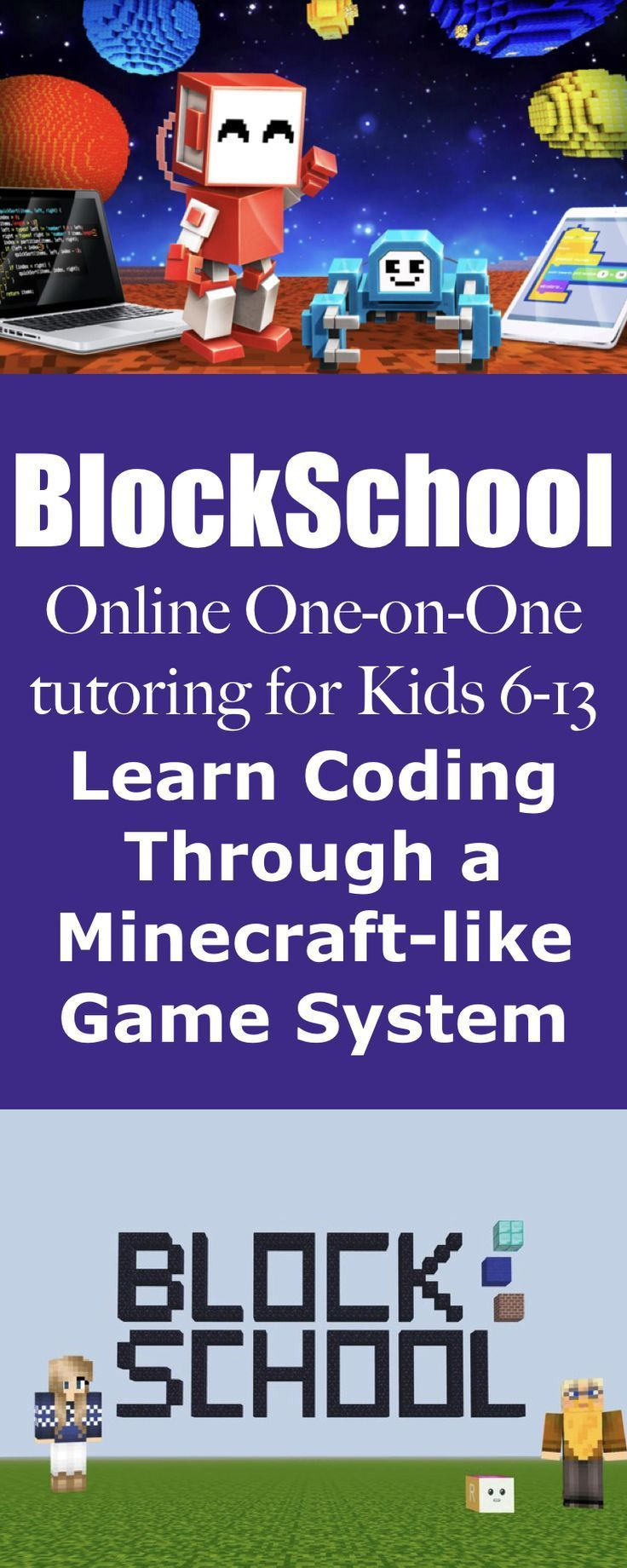 "BlockSchool Review:  Coding is a real-world skill needed for the 21st century. Even if your student never intends to write a ""real"" line of code, the skills learned in coding translate into important concepts such as logic, consequences, if/then reasoning and high-level executive brain function. BlockSchool can transform even the most reluctant learners into coding ninjas… Don't worry, we'll let them believe that it's just another video game! #onlineeducation #BlockSchoolReview #homeschool"