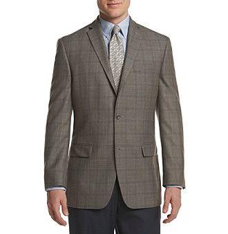 Michael Kors® Men's Big & Tall Plaid Sport Coat