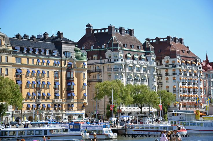 Hotel Diplomat at Strandvägen, one of the most beautiful streets in the world, in the heart of Stockholm