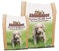 Life's Abundance For Large Breed Puppies http://www.lifesabundance.com/Pets/Puppy/PuppyFoodLargeBreed.aspx?realname=20056169=4==True