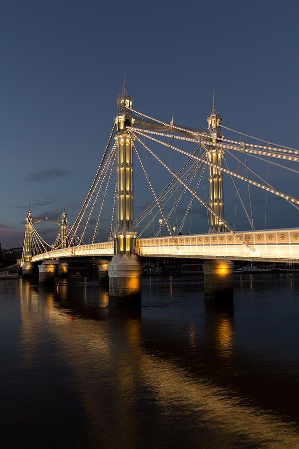 The Albert Bridge - London / www.wildcanadasalmon.com #salmon #wildsalmon #canada