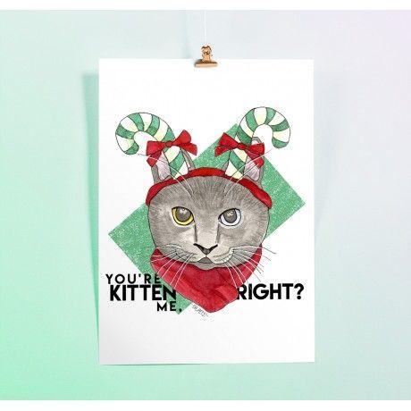 Ilustração Candy Cat