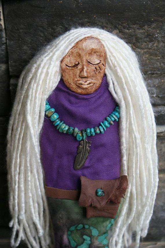 Sacred Protection - Spirit Doll via Etsy