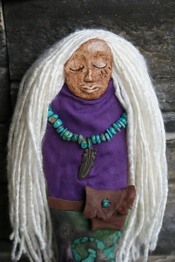 Sacred Protection - Spirit Doll via Etsy