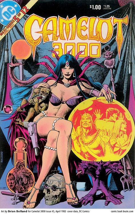 17 best images about CAMELOT 3000 COVERS on Pinterest