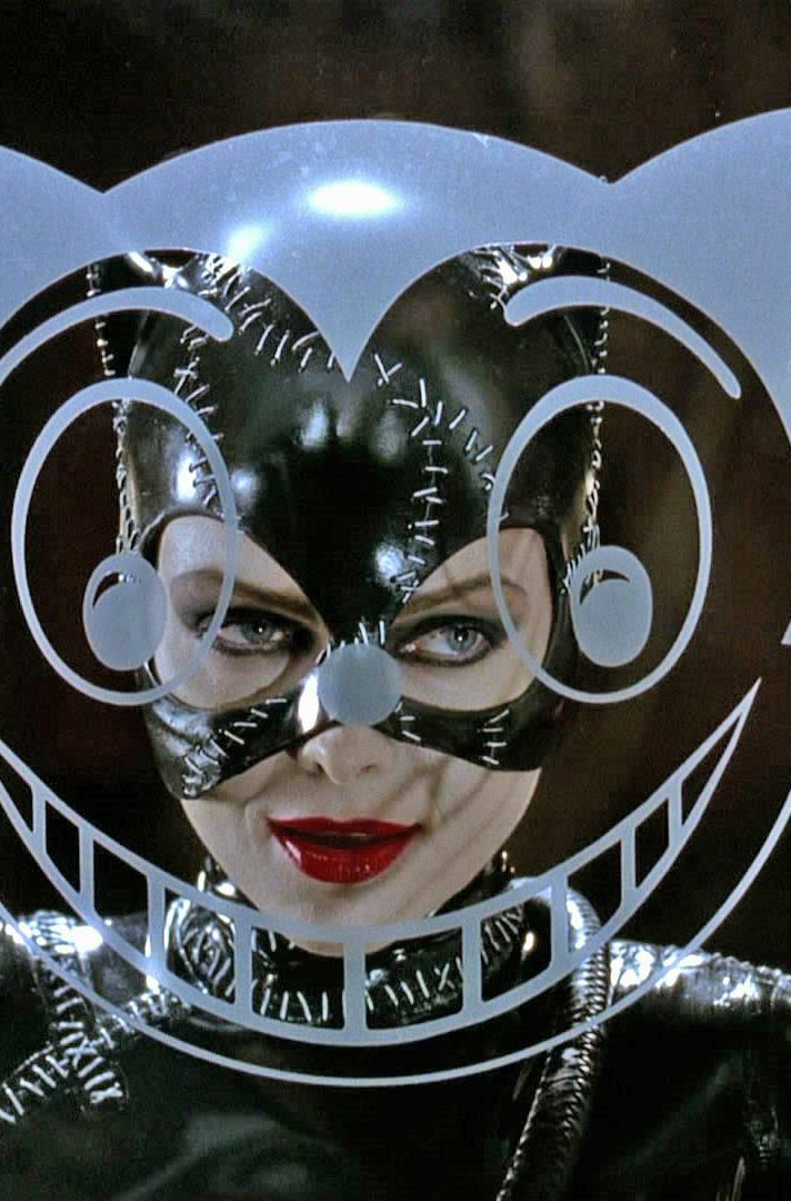 Catwoman outside of Shreck's Department Store in Batman Returns (1992.) I've always loved this shot.