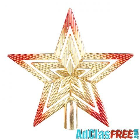 Christmas Tree Top Star Pentagram - US Classified Ads   Post Your Ads For Free