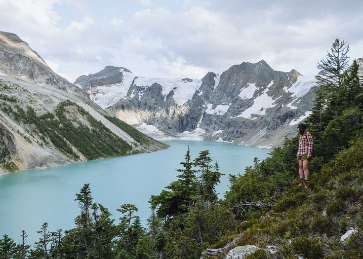 Hiked up to the ridge above Lake of the Hanging Glacier, BC