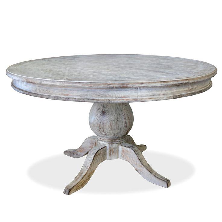 danube weathered oak dining table black distressed set pedestal dinning wood round