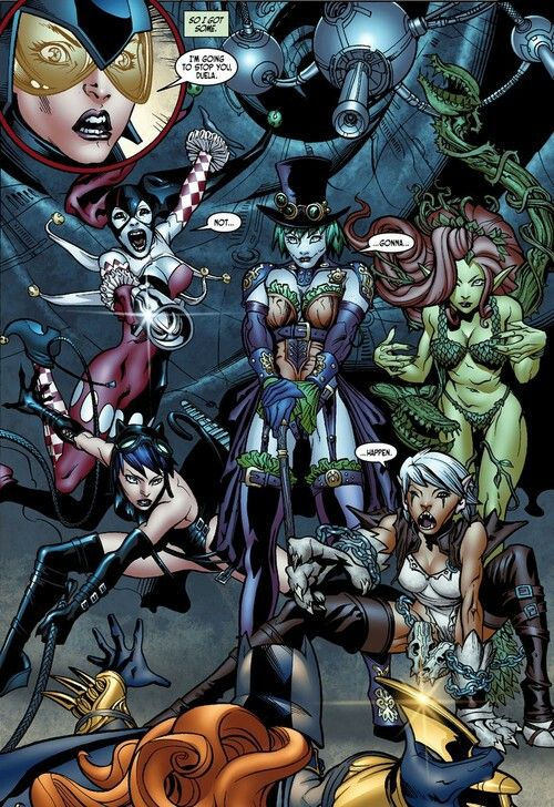 Duela Dent, Harley And Evy