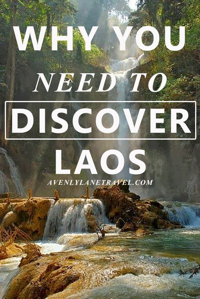 Why You Need To Discover Laos.  Laos is one of the most beautiful and untouched country in the world.  Village life and subsistence farming continue on as if modern developments like skyscrapers, electricity, and the internet do not exist. Read more on www.avenlylanetravel.com