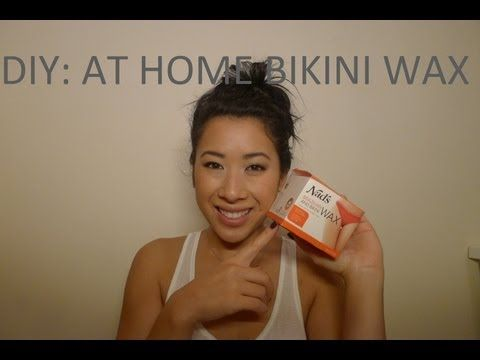 ▶ DIY: At Home Bikini Waxing Using Hard Wax - YouTube