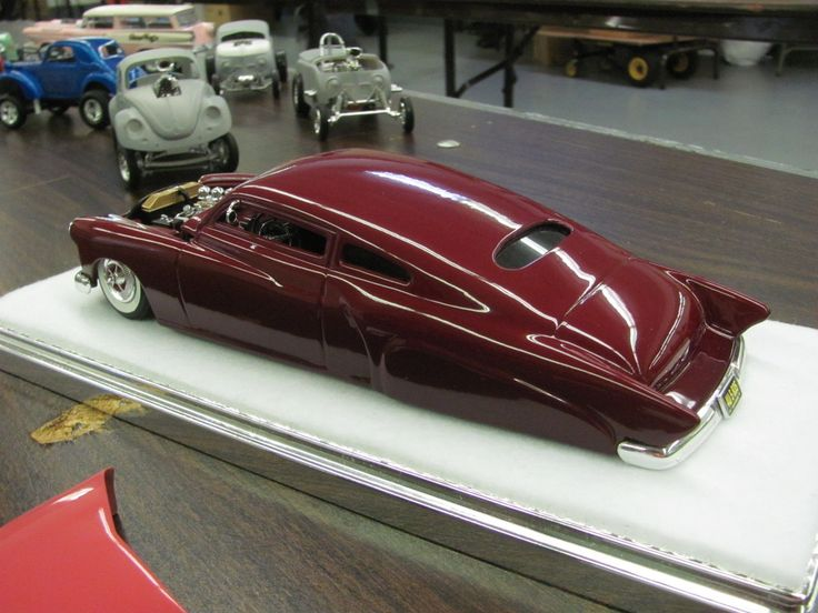 Photo by Marty Neyrinck. Custom model. Model cars kits