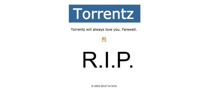 Popular Torrent Site Torrentz Eu Mysteriously Shuts Down Popular Search Engines Search Engine Search Site