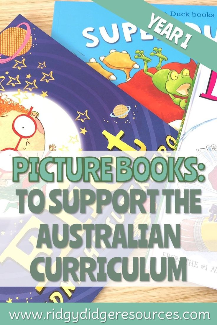 Picture Books to Support the Australian Curriculum: Year 1