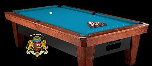 Simonis 860 Tournament Blue 7ft Pool Table Cloth by Simonis. Simonis 860 Tournament Blue 7ft Pool Table Cloth.
