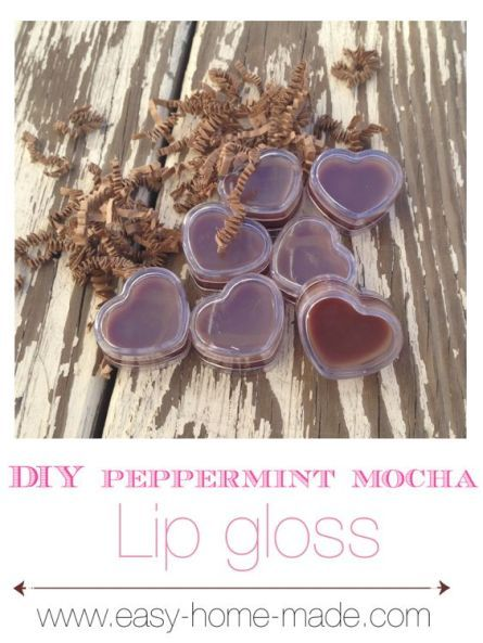 Soothing, Homemade #Lip #Gloss!  How To Make Lip Gloss
