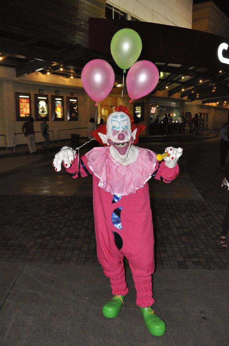 Killer clowns from outer space costume my halloween for Outer space outfit